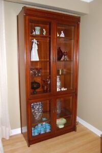 Entertainment Cabinet and Matching Display Cabinet
