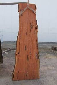 Auction Lot #135 Red Gum Slab natural edges, KD & dressed Heidelberg Heights Banyule Area Preview