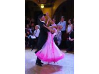 Ex Sponsor Ballroom Dance dress