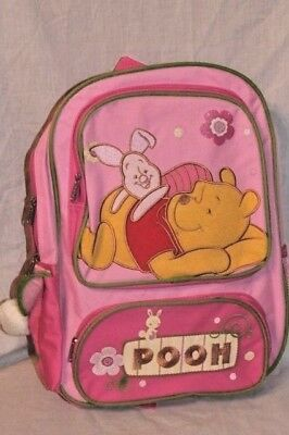 "NEW IN PACKAGE WINNIE THE POOH AND PIGLET 12"" X16"" DISNEY  LARGE BACKPACK"