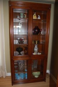 Display Cabinet and Entertainment Unit (Matching)