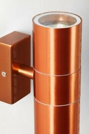 Next Loire Copper Wall Light - New and In Box