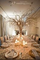 We are your wedding decor specialists!!!!