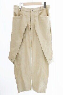 paria / FARZANEH Pariafaruzane 19SS deformation Chino pants M Beige used (3110