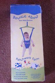 Bounce About door baby bouncer