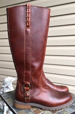 ARIAT Womens Fashion Boots sz 8 B zip up leather Style 10010207 Salen Roper