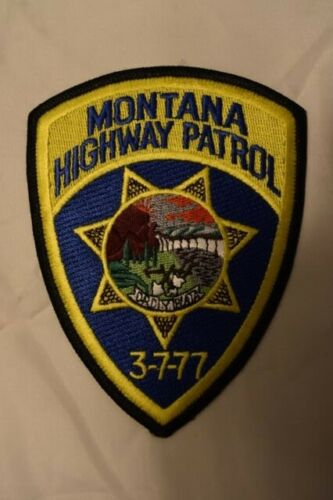 POLICE PATCH MONTANA HIGHWAY PATROL