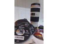 Canon 70-200mm EF 1:4 L IS USM Lens