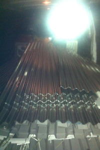 Brand New Metal Roofing 28 pcs Total