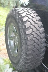 0 IIIII 0     Set Chrome Jeep Rims Fitted ith 31 inch tires.