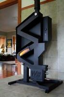 WiseWay Wood Pellet Stove - No Electricity / No Moving Parts