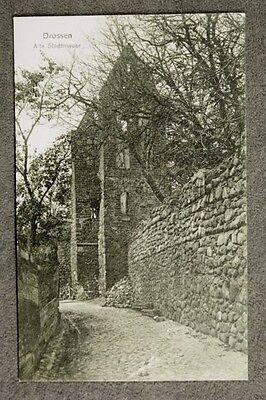 Drossen - Alte Stadtmauer / AK 27