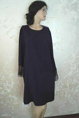 Talk about Damen Kleid  Dunkelblau Knielang Spitzendetails Gr.34 UVP 119,99 Neu - Details Damen Kleid