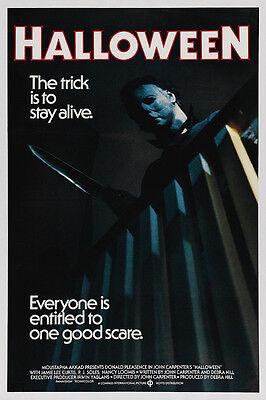 Home Wall Art Print - Vintage Movie Film Poster - HALLOWEEN - A4,A3,A2,A1