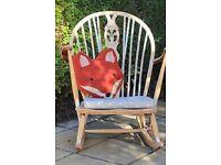 *reduced* Ercol Mid Century Rocking Chair, nursery, nursing, glider, baby