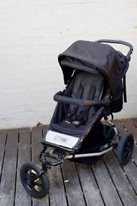 Mountain Buggy Plus One double stroller - Excellent condition Summer Hill Ashfield Area Preview