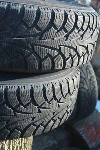 Dedicated SnowTires 205/75/15s on Jeep TJ Rims