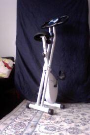 DAVINA MCCALL Folding Magnetic Exercise Bike