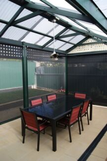 Very new Outdoor dinning table with 8 chairs