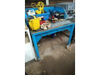 WELDING BOOTH TABLE
