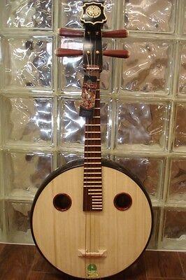 Shanghai Dunhuang Zhongruan Chinese Mandolin Guitar Instrument Zhong Ruan