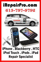 ★Ottawa IREPAIRPRO.COM - iPhone . iPod . iPad . Samsung Repairs★