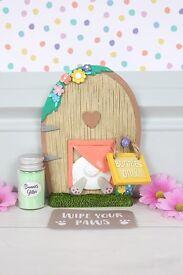 Easter bunny door.