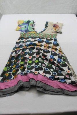 Z1056 Desigual 01V2006 Kleid S  Mehrfarbig  Gut ()