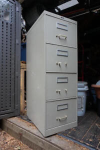 Grey Filing Cabinet