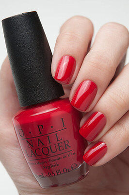OPI Gwen Holiday ~CINNAMON SWEET~ Deep Warm Red Creme Nail Polish Lacquer HRF08