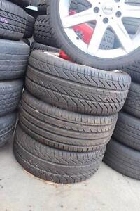 """Selling 4 x Tyres & Alloy wheels 235/40R18 18"""" Keysborough Greater Dandenong Preview"""
