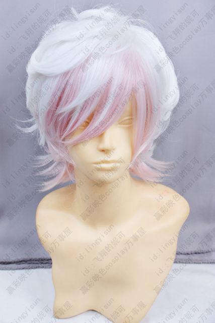DIABOLIK LOVERS Sakamaki Kanato Light purple gradual change cosplay Wig wigs