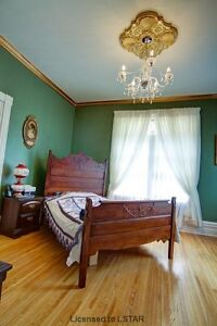 Antique Bed For Sale (Double) In St. Thomas. SOLD-PPU