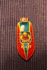 "Vintage Tin Toy ""Arrow"" Boat Whistle 1950's"