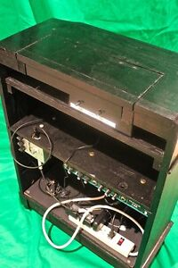 THEREMIN avec / with amplifier amp digital delay antique cabinet West Island Greater Montréal image 5