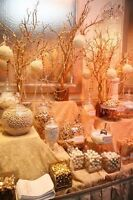 We are your special event decor specialists!!!!