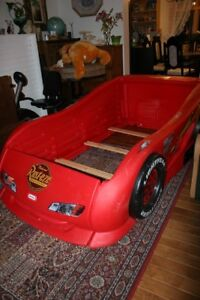 Step2 Stock Car Convertible Toddler to Twin Bed. Good condition.