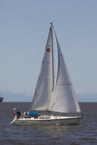 Dream sail boat, O'Day 40