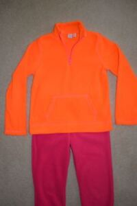 Girl's Size 10 -12 Children's Place Fleece Top and Pants