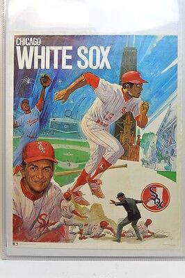 1971  Chicago WHITE SOX Baseball  *POSTER*  Dick Allen Chuck Tanner Carlos May