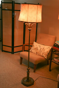 Antique/vintage bronze floor lamp