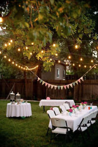 fab rentals - chairs, tables, chafing dish, tents, weddings