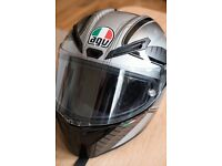 AGV GT VELOCE GTX MOTORCYCLE HELMET as new