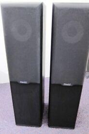 Mission 702e 100 Watt Black Ash Speaker in New Condition Little Used Fantastic Quality Sound