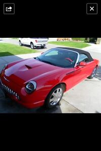 2002 Ford Thunderbird top delux Convertible