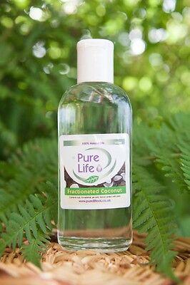 Aceite de Coco Fraccionado Liquid - 100% Puro y Natural Aceite Vehicular...