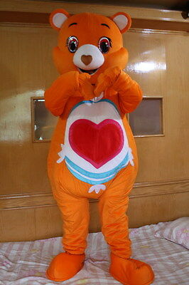 Cute Bear Costumes (Cute Bear Mascot Costume Party Fancy Dress Birthday Adult Size Halloween)