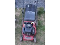 Petrol lawnmower mountfield