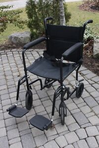 Airgo Transport folding Wheelchair 16 inch chair – Like NEW by A