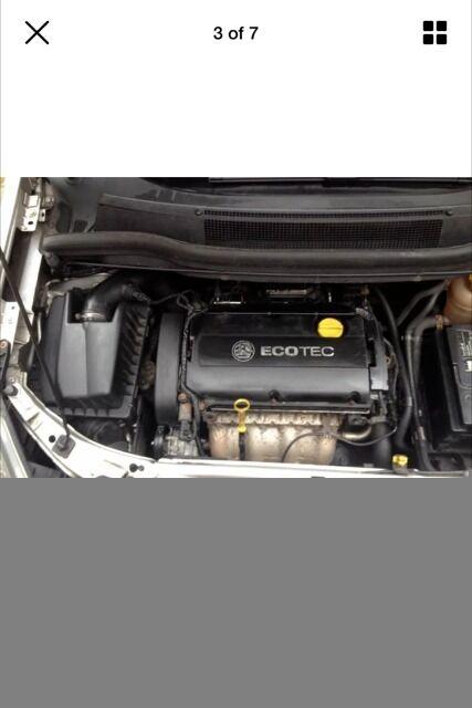 Vauxhall zafira induction kit